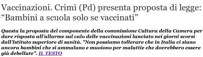 www quotidianosanita it